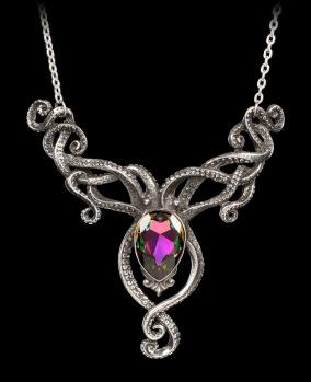 Alchemy-Gothic-Halskette-Kraken